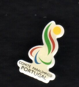 UNDATED PARALYMPIC GAMES PIN. NOC. PORTUGAL PARALYMPIC COMMITTEE. VERY SMALL PIN