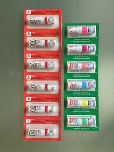 12x of POYSIAN Mark ii + SIANG PURE Inhaler Eucalyptus Menthol Relief Cold Dizzy