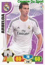 200 ARBELOA ESPANA REALMADRID CARD PANINI ADRENALYN LIGA 2014