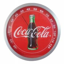 COCA COLA COKE GLASS WALL THERMOMETER NEW!!