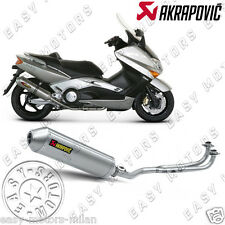 SS-Y5S1-HDT SCARICO MARMITTA TERMINALE AKRAPOVIC RACING LINE YAMAHA T-MAX 500