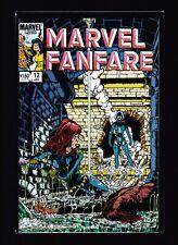 Marvel Fanfare #12 (NM) - 1st appearance of Snap Dragon - Black Widow - Avengers