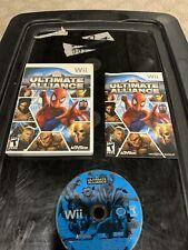 Marvel: Ultimate Alliance (Nintendo Wii, 2006) CIB Complete TESTED Disney