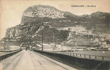 More details for gibraltar - the rock - late 19th century (1880 approx) vintage postcard.