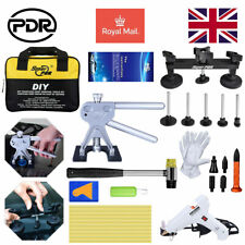 PDR Puller Lifter Paintless Dent Repair Kit Tap Down Hammer Hail Removal Tools