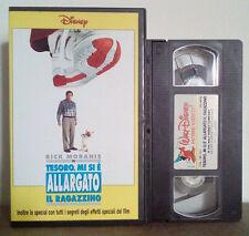 VHS FILM Cartoni Animati Walt Disney TESORO MI SI E'ALLARGATO IL RAGAZZINO(VHS9)
