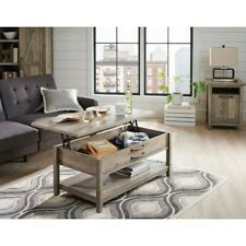 Better Homes & Gardens Modern Farmhouse Lift-Top Coffee Table, Rustic GrayFinish