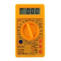 Yellow DT-830B LCD Digital Multimeter AC/DC 750/1000V Amp Volt Ohm Tester Meter