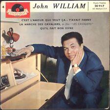 JOHN WILLIAM Y' AVAIT FANNY  45T EP BIEM POLYDOR 20.917 N°4