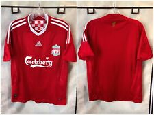 Liverpool 2008/09 Home Soccer Jersey Youth Large Adidas