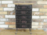 Industrial Vintage Cabinet Cupboard Sideboard Storage Unit Chest Of Drawers AA