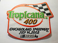 Chicagoland Speedway Racing Patch Tropicana 400 NASCAR Race 2004