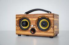 200Watts bamboo Bluetooth speaker Wifi wooden hand made THODIO IBOX MINI