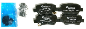 Genuine Toyota Avensis 2010-2016 Rear Brake Pads 04466-YZZE5