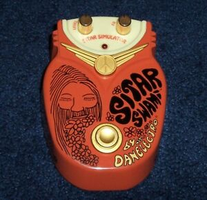 Danelectro Sitar Swami Simulator Guitar Effects Pedal Vintage Psych RARE