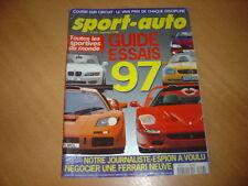 Sport Auto N°416 Guide 1996 des sportives
