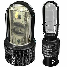 Puzzle Pod Cryptex - Brain Teaser  Coin Bank, New, Free Shipping