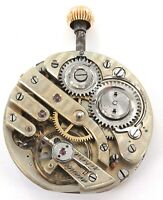 QUALITY WOLF TOOTH 3 FINGER BRIDGE UNBRANDED CONTINENTAL POCKET WATCH MOVEMENT.