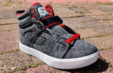 Original Osiris Raider Skateboard Shoes Women's - Gray / White / Red 22962274