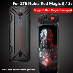 For ZTE Nubia Red Magic 5G / 5S / 3 / 3s Soft Anti-knock Back Cover + Handle Kit
