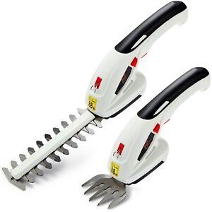 7.2V Electric Cordless Handheld Hedge Trimmer Grass Shears EU Plug