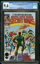 SECRET WARS #11 (1985) CGC 9.6 MARVEL SUPER HEROES WHITE PAGES