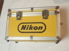 NIKON Vintage Yellow Hard Aluminum Camera Case
