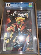Avengers (Volume 7) #14 CGC 9.8 Captain Marvel Skrulls variant Black Panther