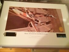Star Wars - Ralph McQuarrie Lithograph -  Rebel Attack on the Death Star (No #)