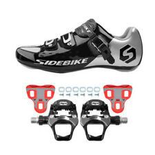 SIDEBIKE Men's Sneakers Outdoor Road Bike Cycling Shoes Pedal Cleats Cushioning