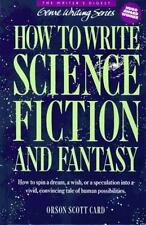 How to Write Science Fiction and Fantasy (Genre Writing), Orson Scott Card, 0898