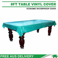 8FT Weighted Corner Waterproof Vinyl Cover for Pool Snooker Table Free Delivery