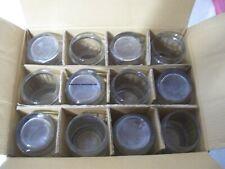 GOSLING'S DARK & STORMY CLEAR GLASSES BARREL TUMBLERS BAR-WARE BAR RUM MUGS CASE