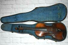 Antique Fried, Aug. Glass Antonins Straudiuarius Fies 1736 Violin 4/4