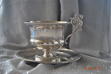 Gorgeous silver cup   France