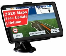 GPS Car/Trucker  Navigation 7-inch Display 256MB-8GB Real Voice Broadcast  US