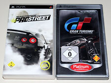 2 juegos PSP bundle-need for speed Pro Street & gran turismo-PlayStation