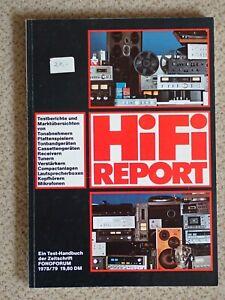 Hifi Report 1978 - Testberichte und Marktübersichten, Fono Forum, Selten