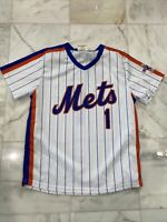 New York Mets Mookie Wilson 25Th Anniversary Jersey Size Large