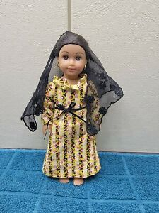 "American Girl Josefina 25th Anniversary 6"" Doll Preowned"