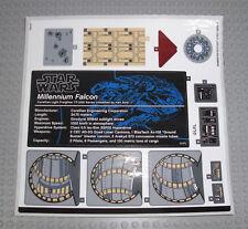 LEGO Star Wars 75192 Millennium Falcon - STICKER / AUFKLEBER - UCS Falke Decals