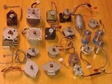 AstroSyn Mitsumi Kyushu Matsushita Huge Collection Lot salvaged stepper motors