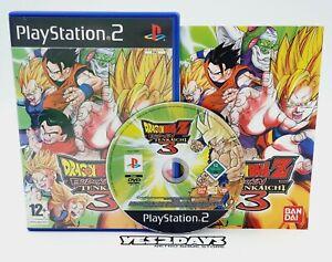 DRAGON BALL Z Budokai TENKAICHI 3 SONY PlayStation 2 ps2 Complete Like NEW