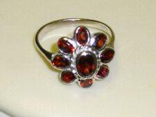 Granat 925 Sterl. Silber Ring