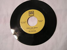 The Beatles Tollie 45 with black logo-TWIST AND SHOUT/THERE'S A PLACE