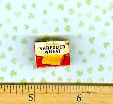 Dollhouse Miniature Size Vintage Shredded Wheat Cereal Box-1
