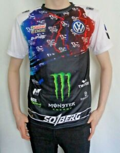 Mens T Shirt Petter Solberg WRC Rally Team Official Clothing