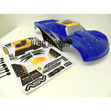 1/5 Scale King Motor Strong T1000 Painted Truck Body Fits HPI Baja 5T 5SC Blue