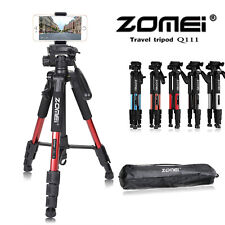 Zomei Q111 Tripod with Ball Head for Digital Camera Travel SLR phone clip