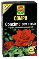 Compo Concime Per Rose Con Guano Per Cespugli Fioriti E Rampicanti 3 Kg Rosa